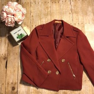 Ellen Tracy Jackets & Coats - Ellen Tracy Cropped Blazer- Large
